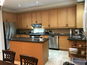 IMMPECCABLE CONDITION UPPER KITCHEN CABINETS EXRA TALL