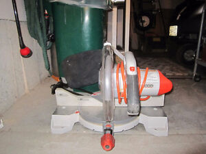 Mitre saw by  Rigid Kitchener / Waterloo Kitchener Area image 3
