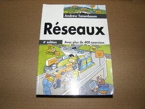 Livre - Réseaux 4e édition avec plus de 400 Exercises - 10$