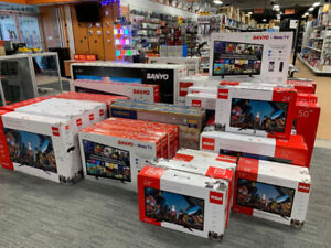 RCA , SANYO, VIZIO, SHARP, SAMSUNG,LG HDTV AT LOWEST PRICES