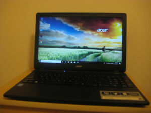 "Acer Laptop, Intel 2.16 GHz CPU, 8 GB RAM, 1.0 TB HDD, 15.6"" LED"