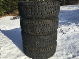 Four 215/50R17 Winter Tires