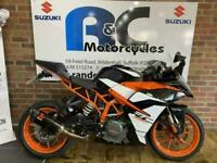 KTM RC 390 2017 - A2 LICENCE - VERY CLEAN - LOW MILEAGE - FINANCE
