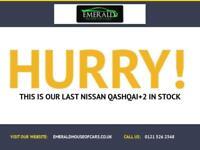 2012 12 NISSAN QASHQAI+2 1.5 TEKNA PLUS 2 DCI 5D 110 BHP DIESEL
