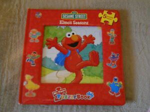 Elmo's seasons my first puzzle book.