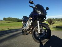 2004 Yamaha FZ6, excellent condition, many extras