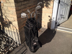 Golf Bag with sticks
