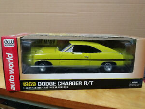 1969 Dodge Charger movie car in 1/18 scale diecast.