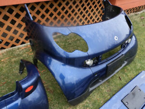 SMART FORTWO BLUE BODY WORK