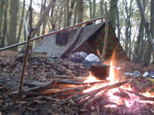 Never been camping? Want to learn how to survive in the woods?