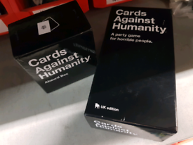 Cards Against Humanity game + Absurd box