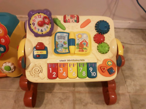 VTECH play table