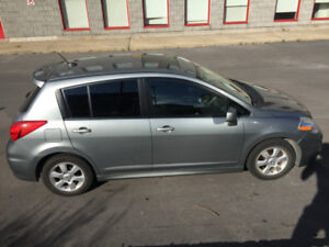 NISSAN VERSA 2009 SL with BLUETOOTH and SUNROOF