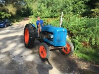 Fordson major 1958 tractor