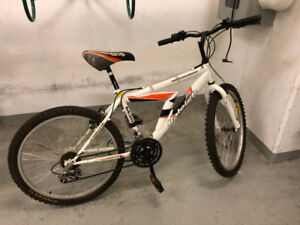 "Raleigh Mountain Sport kids bike with 24"" tires"