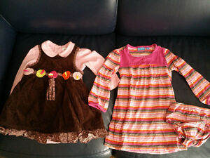 2 Beautiful 24 Month Dresses - Excellent Condition