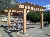 Decks, Pergolas, Interior/Exterior finishing
