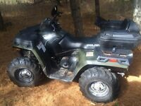 2011 Polaris 500 HO trade for RZR
