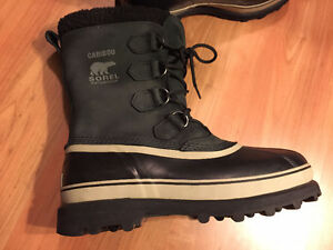 Sorel - Caribou Men's, Black (Size 9.5)++MINT, Perfect Condition
