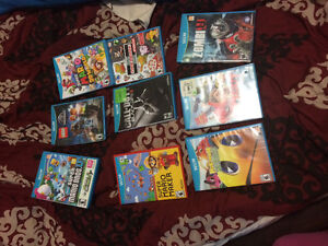 WII U CONTROLLERS AND GAMES