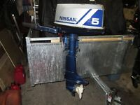 NISSAN 5 HP OUTBOARD