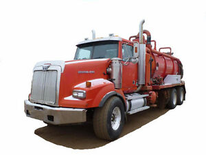 2002 WESTERN STAR HD VACUUM TRUCK Cash/ trade/ lease to own term