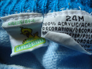 Boys Size 24 Months Cookie Monster Sweater Kingston Kingston Area image 3
