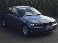 2002 '52' BMW 3 Series 2.0 318i SE 4dr Saloon, Petrol.