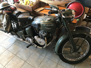 1957 Triumph TRW Canadian military only 1000 miles!