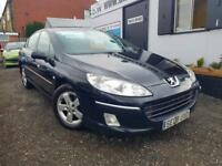 PEUGEOT 407 SE HDI Black Manual Diesel, 2008