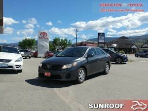 2013 Toyota Corolla CE  - BLUETOOTH -  SUNROOF