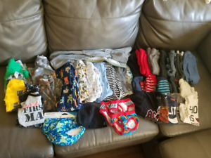 Boys clothes 18-24 lot + some 2T