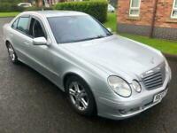 2007 Silver Mercedes-Benz E220 2.1CDI auto CDI Avantgarde Great Cheap MERC