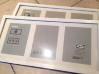 IKEA Ribba picture/photo Frames x2
