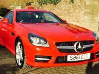 Mercedes-Benz Slk 1.8 SLK200 BlueEFFICIENCY AMG Sport Edition 125 7G-Tronic Plus 2dr