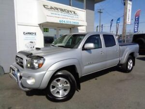 2010 Toyota Tacoma TRD Sport 4x4, Double Cab, Leather, Heated Se