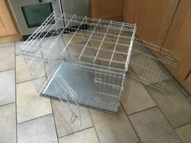 Dog pet cage crate. Folds flat