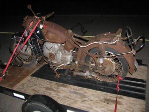 R50 R60 R69 R69S /2 Earles Fork BMW Motorcycle