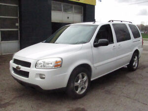 2008 Chev Ulander 7 passenger 5 door auto ,Safety and e test