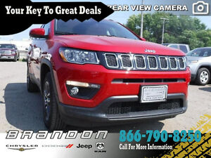 2017 Jeep All-New Compass North - Nagivation, Rear View Camera,