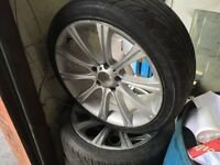 BMW M Rims with tires