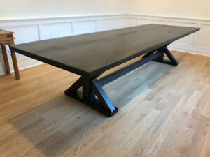 LARGE DINING TABLES , HAND MADE