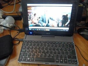 $150 TABLET AND KEYBOARD COMBO 10 INCH ACER ICONIA W500
