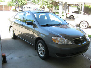 Mint 2008 Toyota Corolla Limited Edition