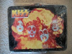 KISS METAL LUNCH BOXES