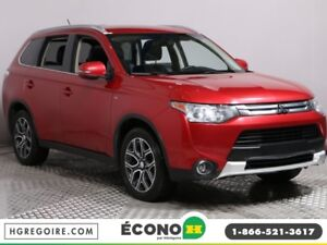 2015 Mitsubishi Outlander GT AWD CUIR TOIT MAGS 7 PASSAGERS