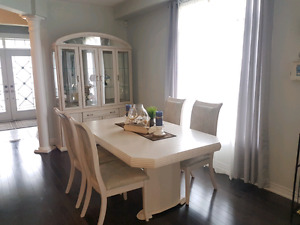 Dining Set, Solid Maple