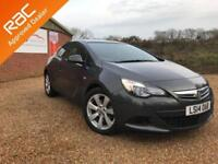 2014 14 VAUXHALL ASTRA 1.4 GTC SPORT 3D AUTO 138 BHP ONLY 10,000 MILES