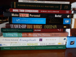 Various Books, Bible College, Missions, Theology ...