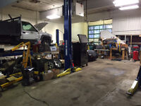 Licensed automotive repair mechanic wanted as a partner